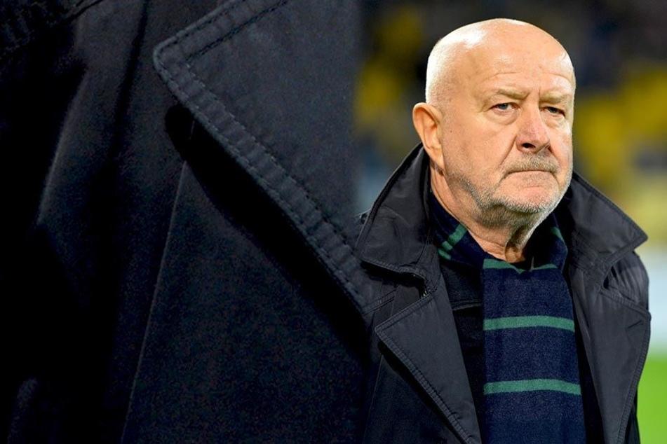 Dynamo-Idol Hansi Kreische hat die sportliche Entwicklung der Schwarz-Gelben genau im Blick.