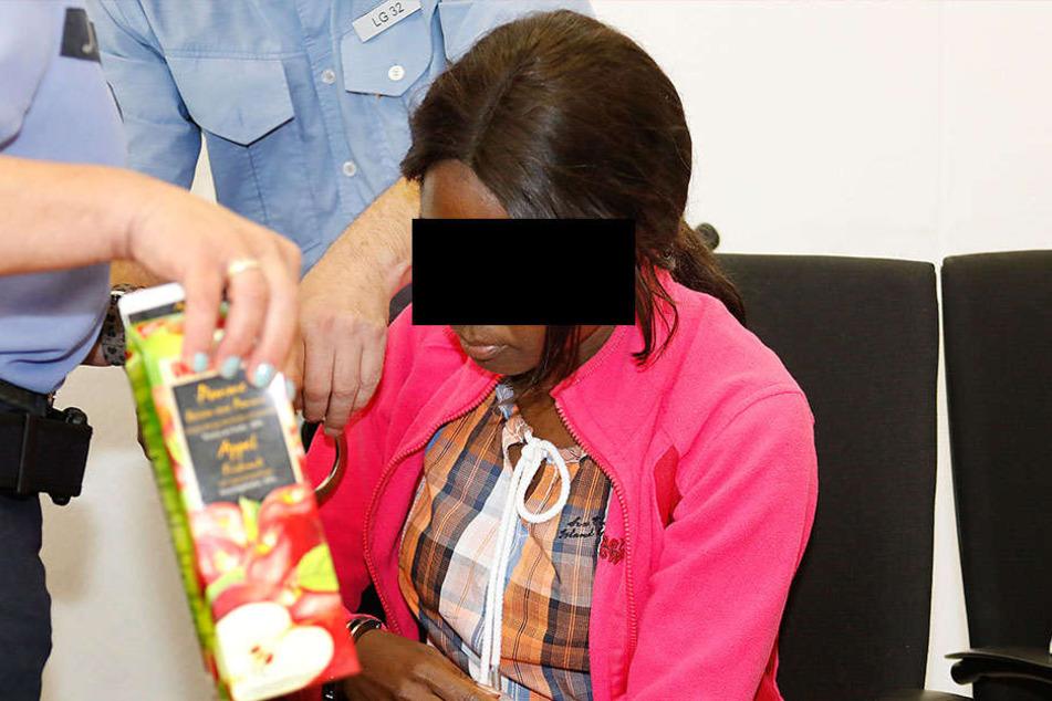 Susan A. (31) ist als Mörderin angeklagt.