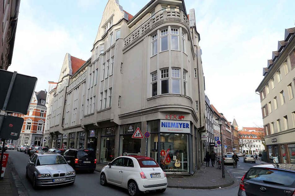 Am 31. März ist Ende: Das Musikgeschäft Niemeyer befindet sich in der Bielefelder Altstadt.