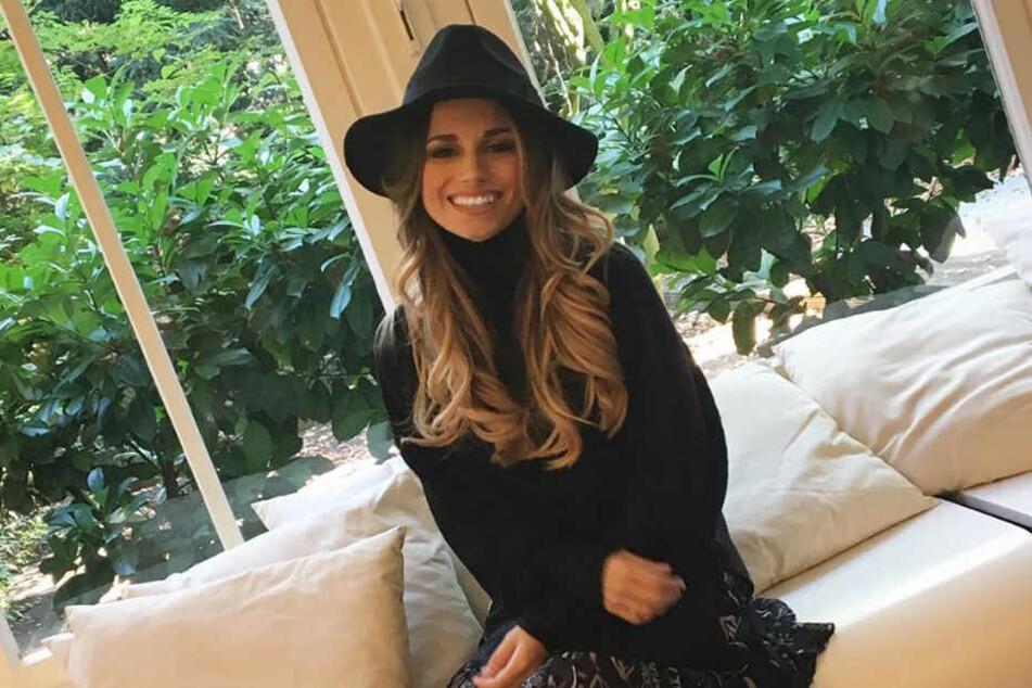 """Christina Raphaella Ginter hat gut lachen: """"Playboy""""-Leser haben sie zur heißesten Spielerfrau 2018 gewählt."""