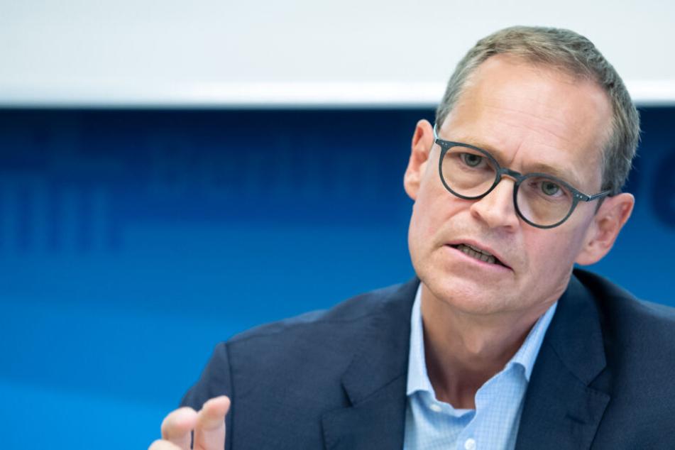 Berlins Regierender Bürgermeister Müller fordert neues SPD-Grundsatzprogramm