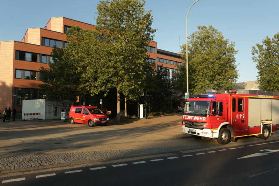 Die Feuerwehr konnte das Rathaus von Eschweiler retten.