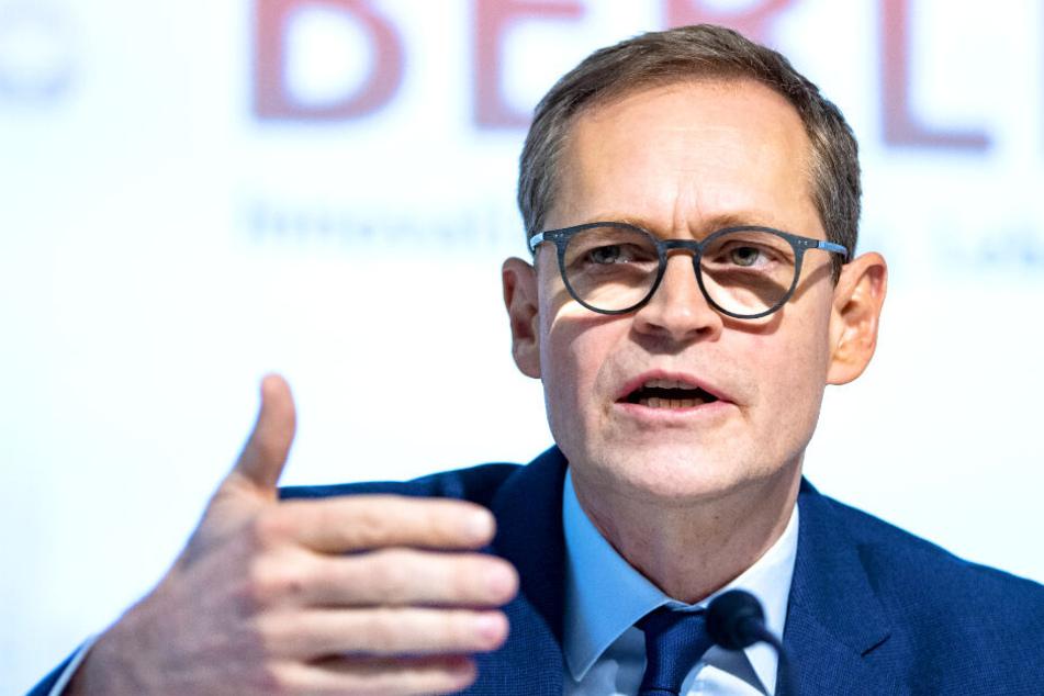 Bürgermeister Michael Müller ist gegen die Enteignung von privaten Wohnungsunternehmen.
