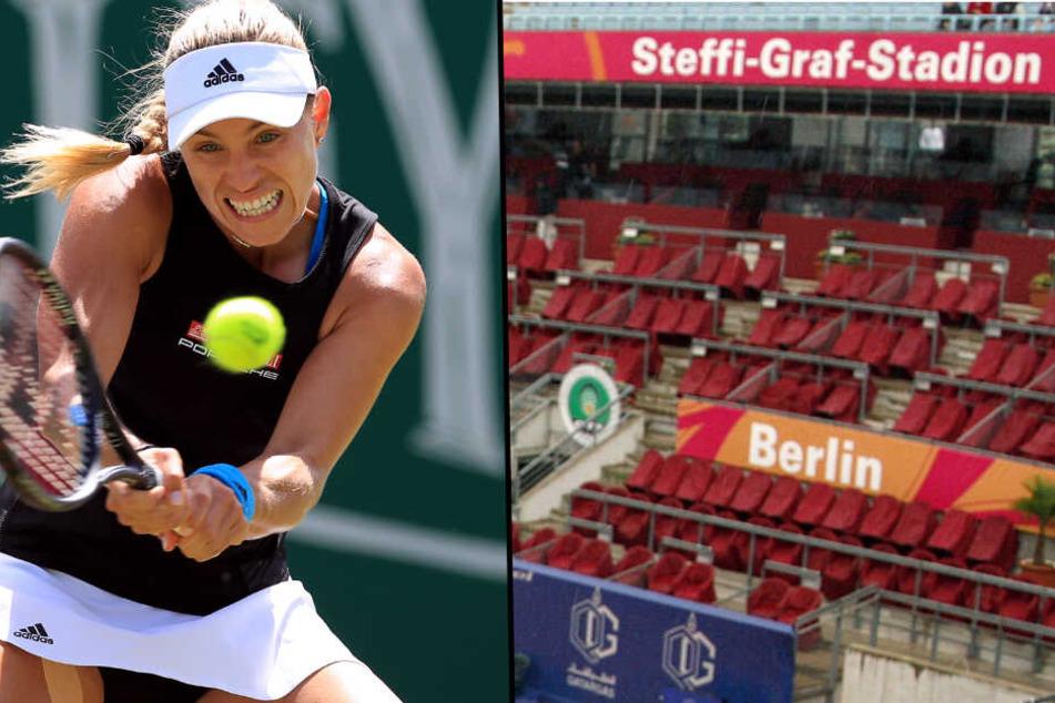 Kerber in Berlin? Die amtierende Wimbledon-Siegerin könnte bald in der deutschen Hauptstadt aufschlagen.