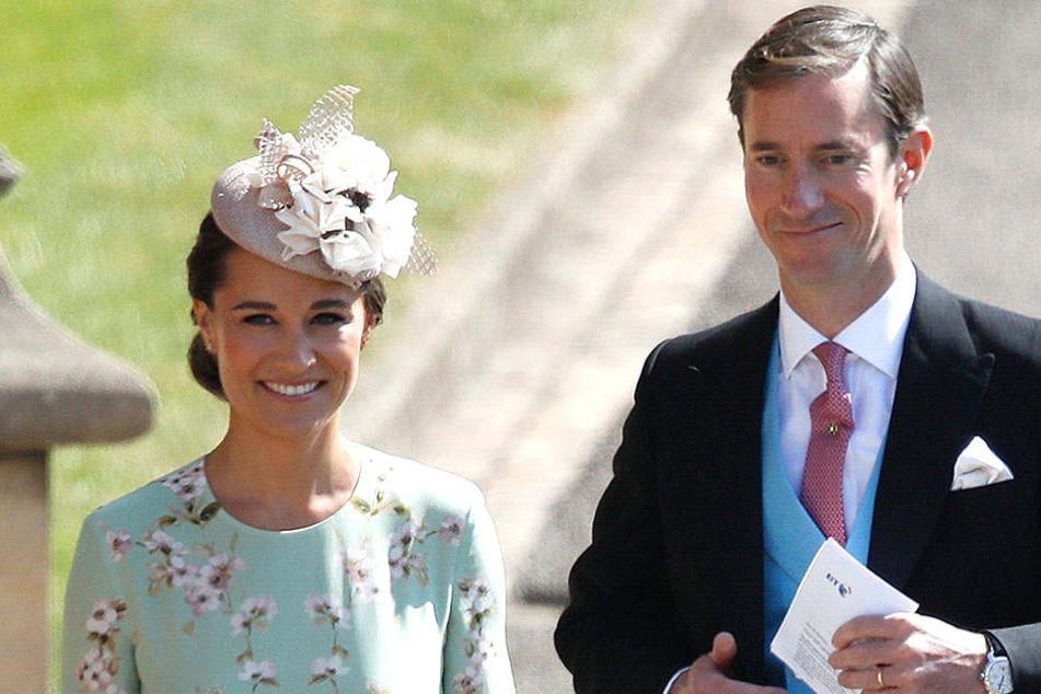 Bei der Hochzeit von Prinz Harry waren Pippa und James natürlich auch eingeladen.
