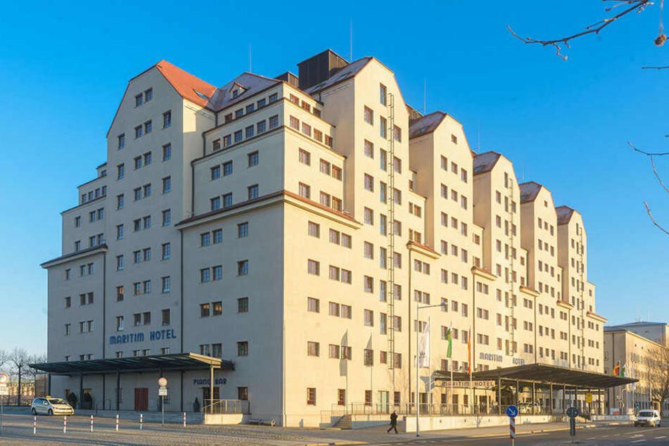 Auch im Dresdner Maritim-Hotel hat der Thüringer AfD-Landeschef nun Hausverbot.