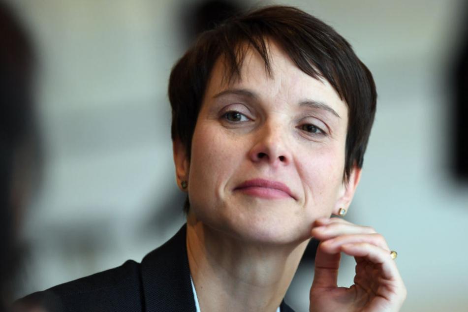 In dem Verfahren ging es um eine mögliche Steuerhinterziehung in Zusammenhang mit Frauke Petrys (43) in Schieflage geratener Firma.