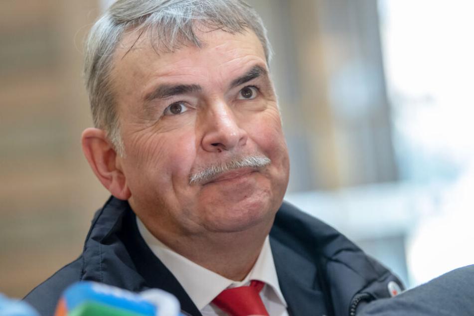 Gustl Mollath fordert vom Freistaat Bayern eine hohe Entschädigungssumme.