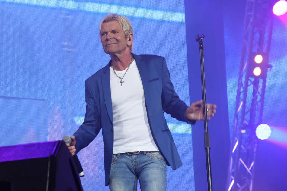 Matthias Reim tritt im August bei der Großen Schlagernacht auf der Waldbühne in Berlin auf.