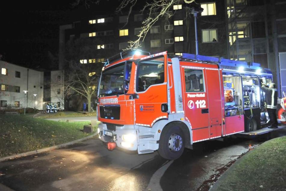 Das Feuer war in einem Zimmer einer Nervenklinik in Remscheid ausgebrochen.