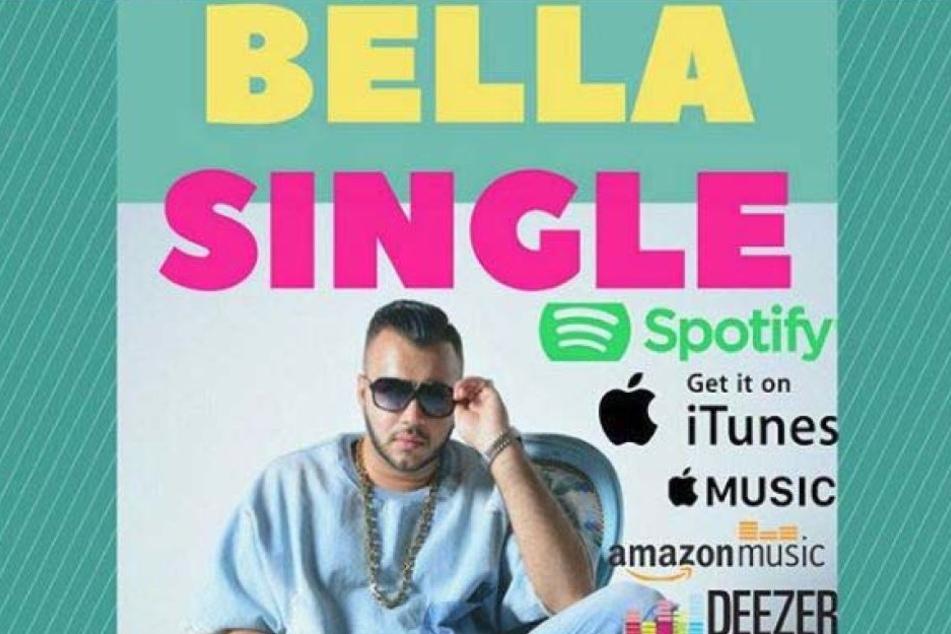 """Das Cover der Single """"Bella"""" ziert den Stuttgarter selbst."""