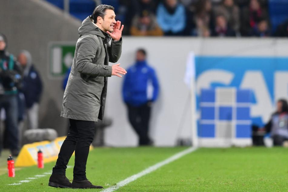 Niko Kovac war nach dem späten Ausgleichstreffer enttäuscht.