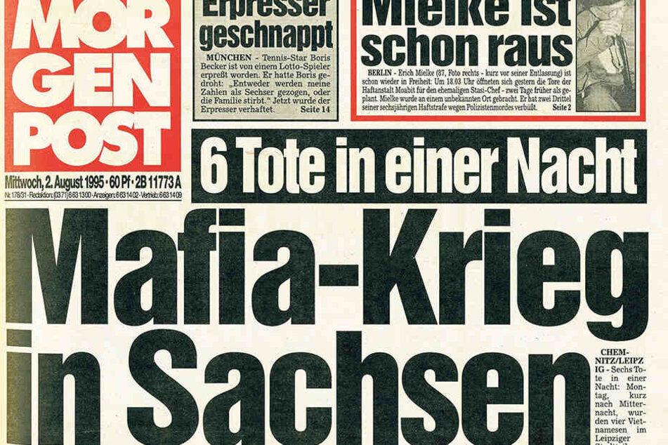 Die Morgenpost berichtete 1995 über die Tat.