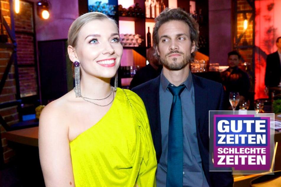Böse Überraschung bei GZSZ: Robert erwischt Brenda und Felix beim Sex!