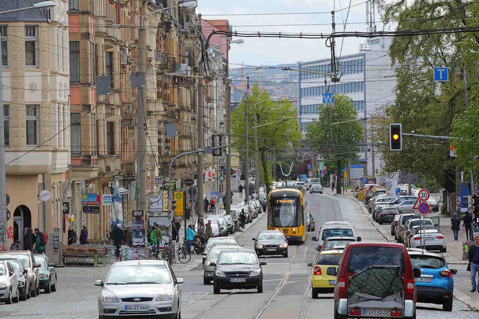 Heute gibt's eine Infoveranstaltung zum geplanten Ausbau der Königsbrücker Straße.
