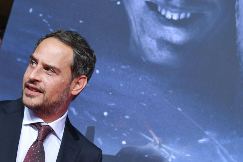"""Moritz Bleibtreu bei der Weltpremiere des Films """"Abgeschnitten"""" am Roten Teppich."""
