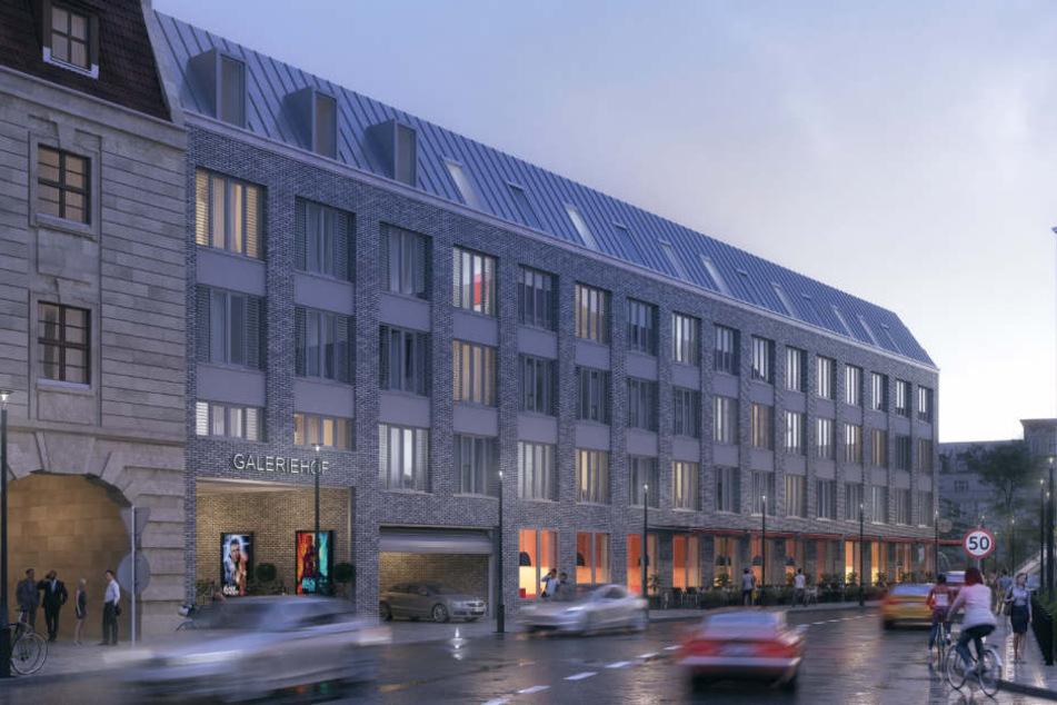 Insgesamt fünf Architektenbüros sind mit der Gestaltung des Bauvorhabens beschäftigt worden.