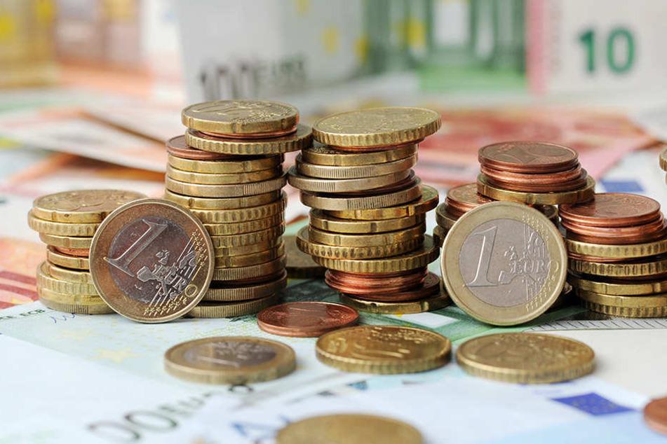 Ein bisschen mehr als hier auf dem Foto darf's dann schon sein, dennoch sind die meisten Deutschen zufrieden mit ihrer finanziellen Situation. (Symbolbild)