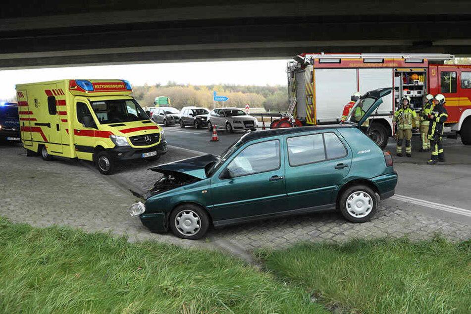 Wegen des Unfalls kam es zum Stau.