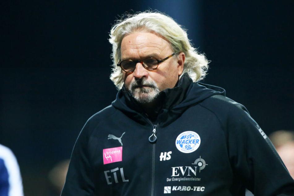Wacker-Coach Heiko Scholz muss seine Spieler trotz der schwierigen Situation weiter bei Laune halten.