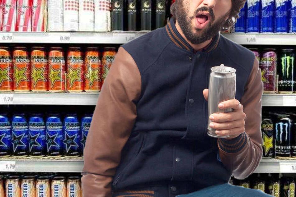 Innerhalb von sechs Stunden soll der Mann 25 Dosen getrunken haben. (Symbolbild)