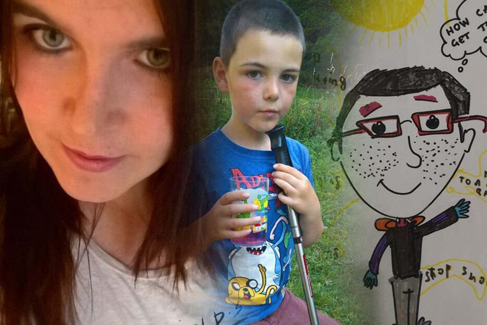 Mutter kann nicht fassen, was für ein Bild ihr Sohn (11) da aus der Schule mitbringt