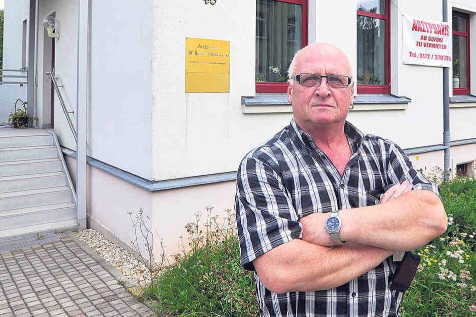 Anwohner Dieter Gündel (65) hatte selbst Schwierigkeiten, einen neuen Hausarzt zu finden.