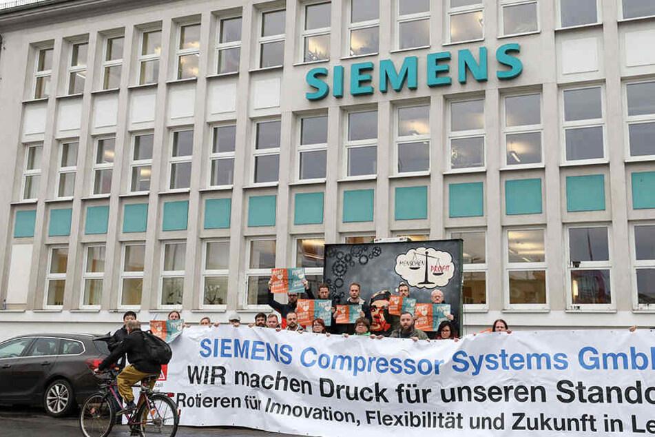 Schock für Mitarbeiter: Sächsische Siemens-Standorte schließen