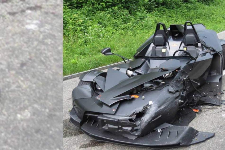 Batmobil von Angetrunkenem abgeschossen