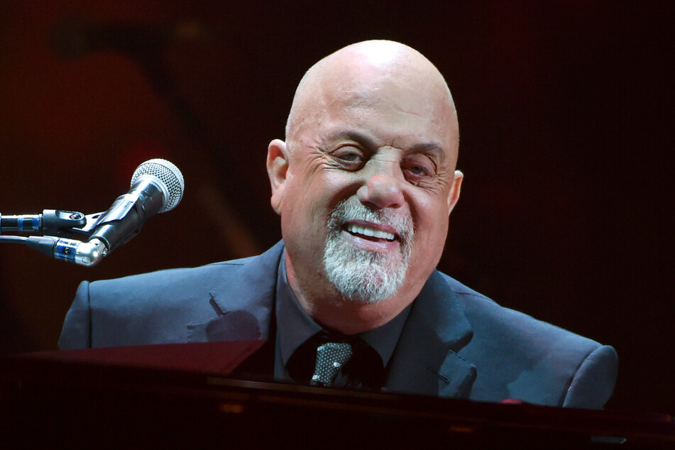 Billy Joel, Sänger und Pianist aus den USA, tritt beim 100.