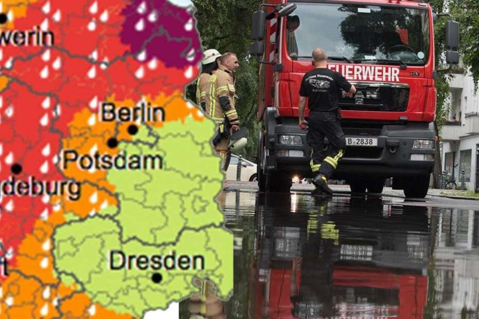 Amtliche Warnung: Nächste Unwetter-Front zieht nach Berlin