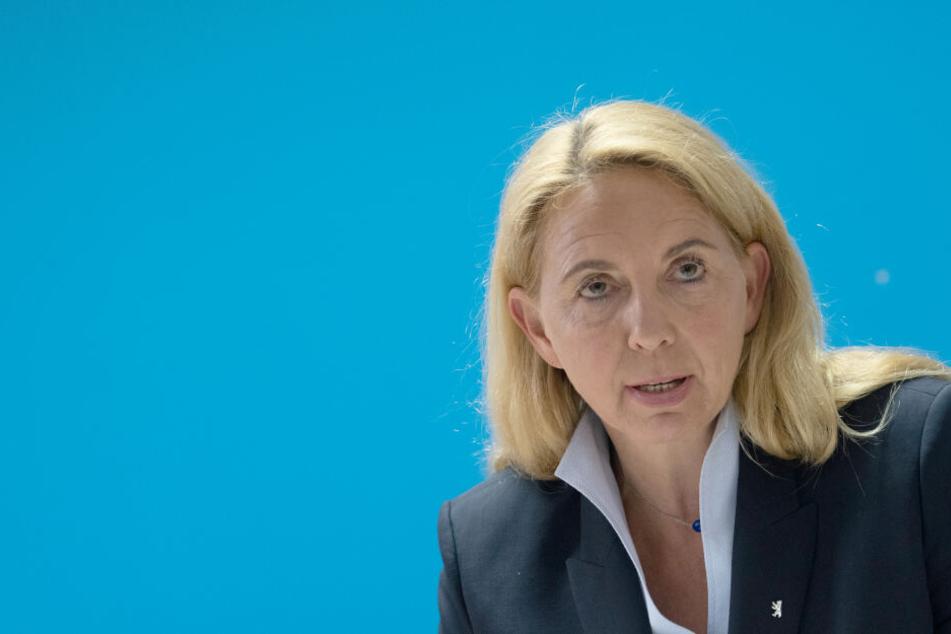 Berlins Polizeipräsidentin Barbara Slowik.