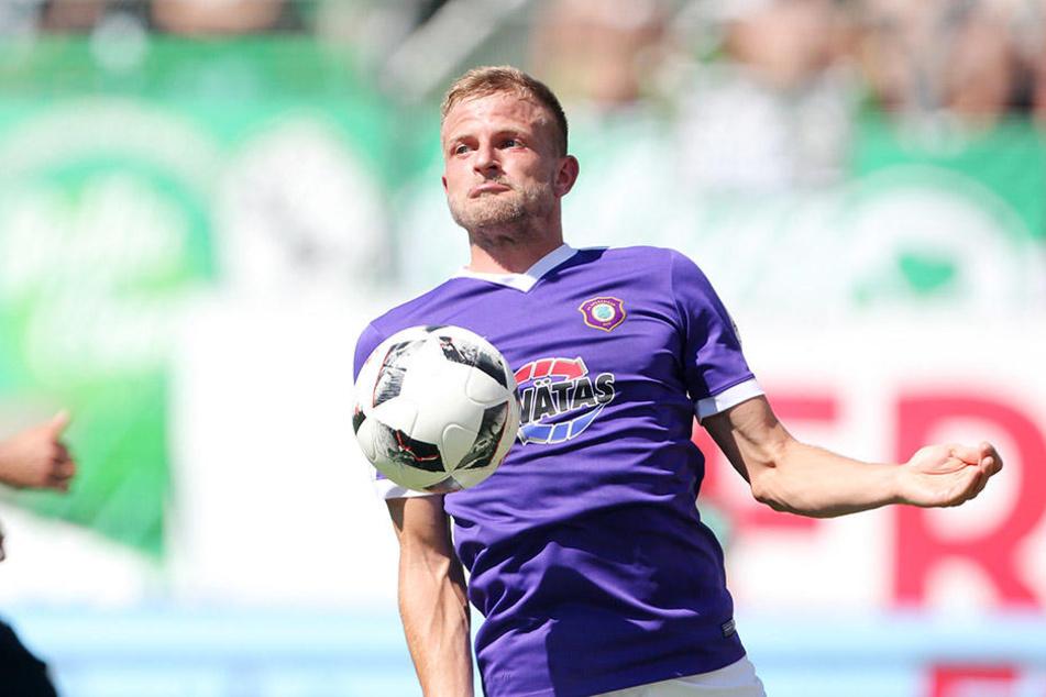Nicky Adler ist vor der Aufgabe Eintracht Braunschweig nicht bange.