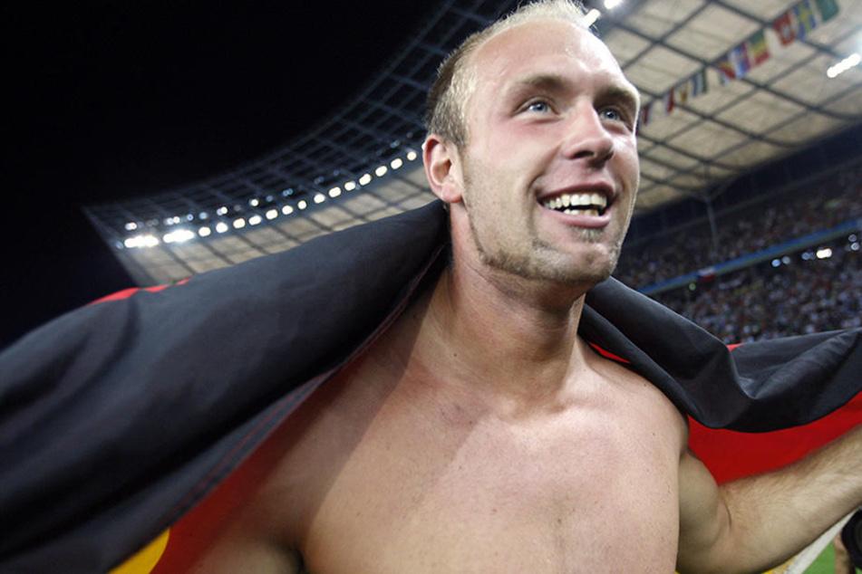 2009 gewann Harting bei der Leichtathletik-WM in Berlin die Goldmedaille.