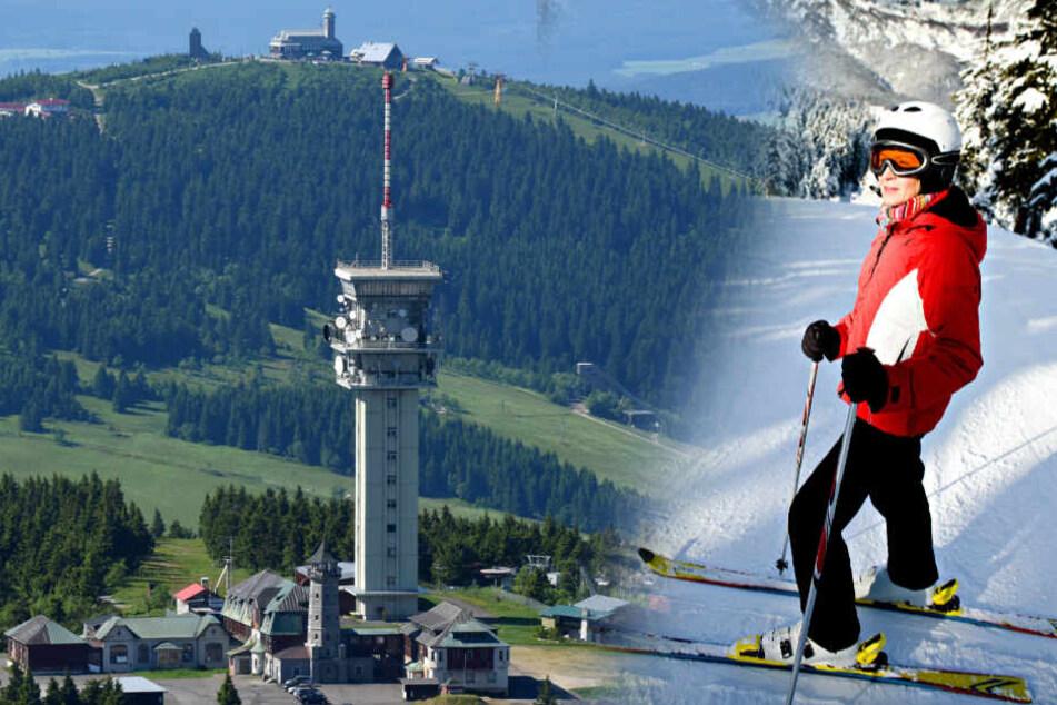 Dem Fichtelberg laufen die Ski-Fahrer davon, weil Tschechien einiges besser macht