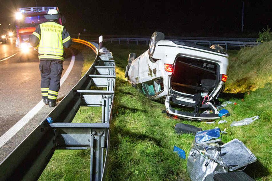 Bei dem Unfall entstanden rund 25.000 Euro Schaden.