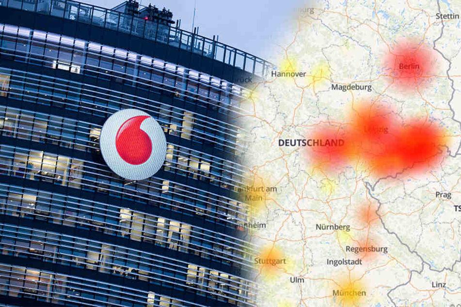 Vodafone-Kunden erneut von Ausfall betroffen