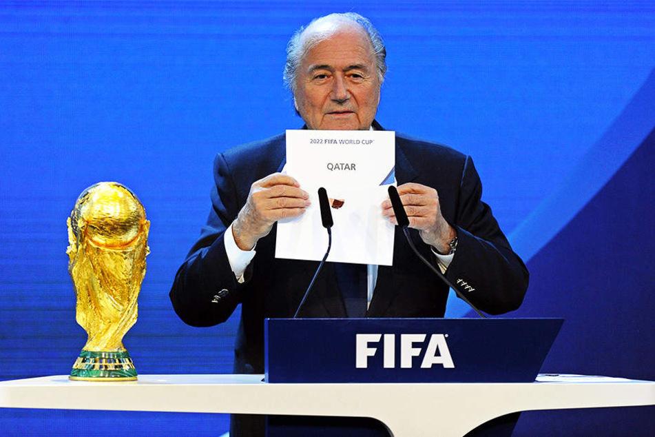 Die Kritik am Ausrichter der WM 2022, Katar, nimmt zu.