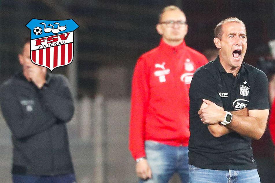 Lauterns Ehrmann geht auf FSV-Trainer Enochs los!