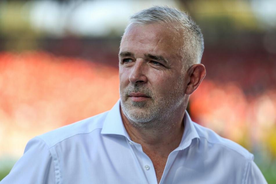 Union-Präsident Dirk Zingler (56) kämpft seit einiger Zeit für mehr Fans im Stadion und eckte dabei mit seinen Vorschlägen immer wieder an.