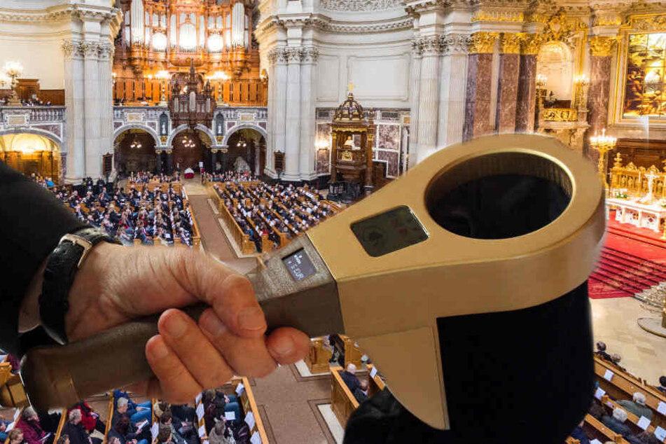 """Die Evangelische Kirche hat in Berlin den """"digitalen Klingelbeutel"""" vorgestellt."""
