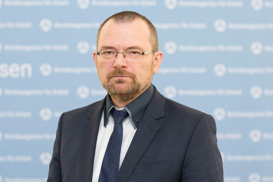 Neuer Chef von Sachsens Arbeitsagentur: Klaus-Peter Hansen (53).