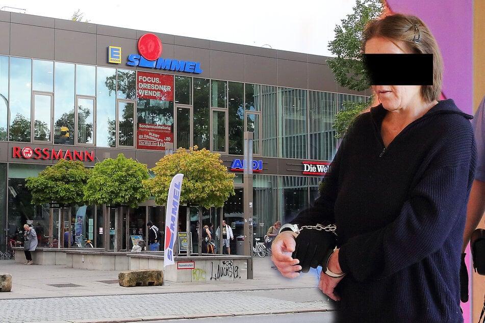 Tatort Dresdner Neustadt: Notorische Schwarzfahrerin hat Hausverbot im Supermarkt!