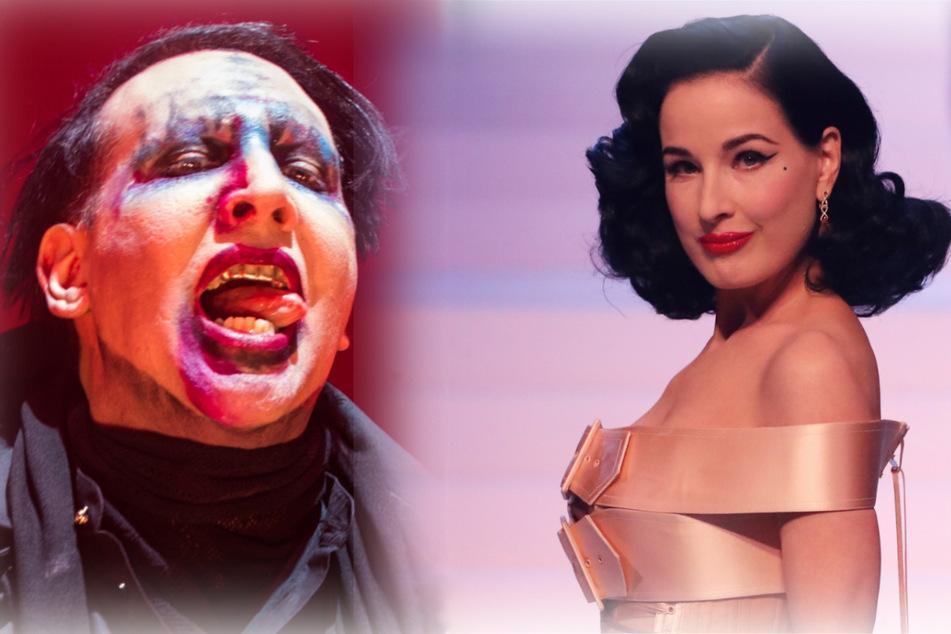 Missbrauchsvorwürfe gegen Marilyn Manson: Ex-Frau Dita von Teese äußert sich