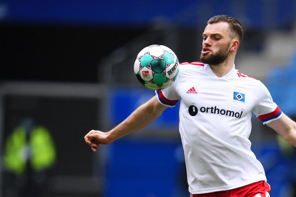 Manuel Wintzheimer (45) brachte den Hamburger SV gegen den FC Basel mit 1:0 in Führung und bestätigte damit seine gute Form.