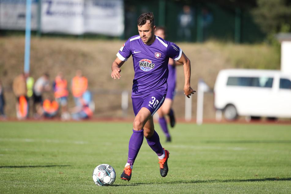 Mittelfeldspieler Robert Herrmann (26) verlässt den FC Erzgebirge Aue.