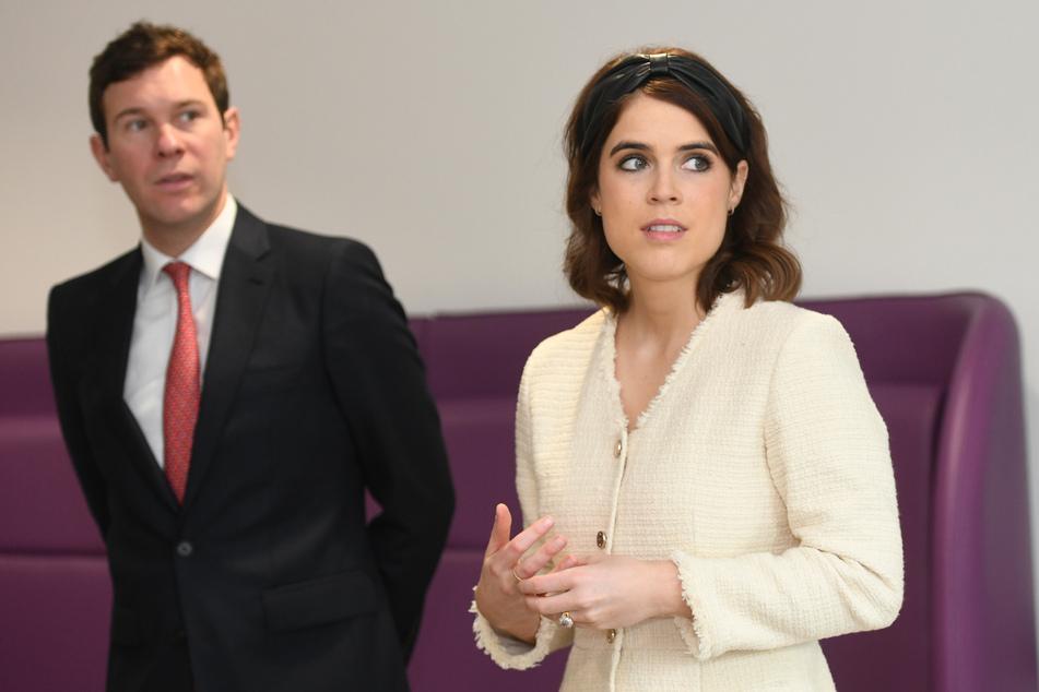 Die britische Prinzessin Eugenie und Jack Brooksbank sind Medien zufolge ins Frogmore Cottage in Windsor gezogen - in die Residenz von Prinz Harry und Meghan.