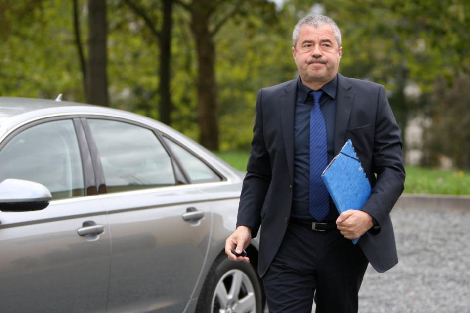Landrat Michael Geisler (58, CDU) wurde die neue Trasse bereits vorgestellt.