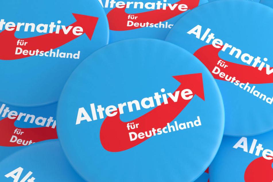Die AfD plant für Mittwoch eine Wahlkampf-Veranstaltung in Wiesbaden (Archivbild).