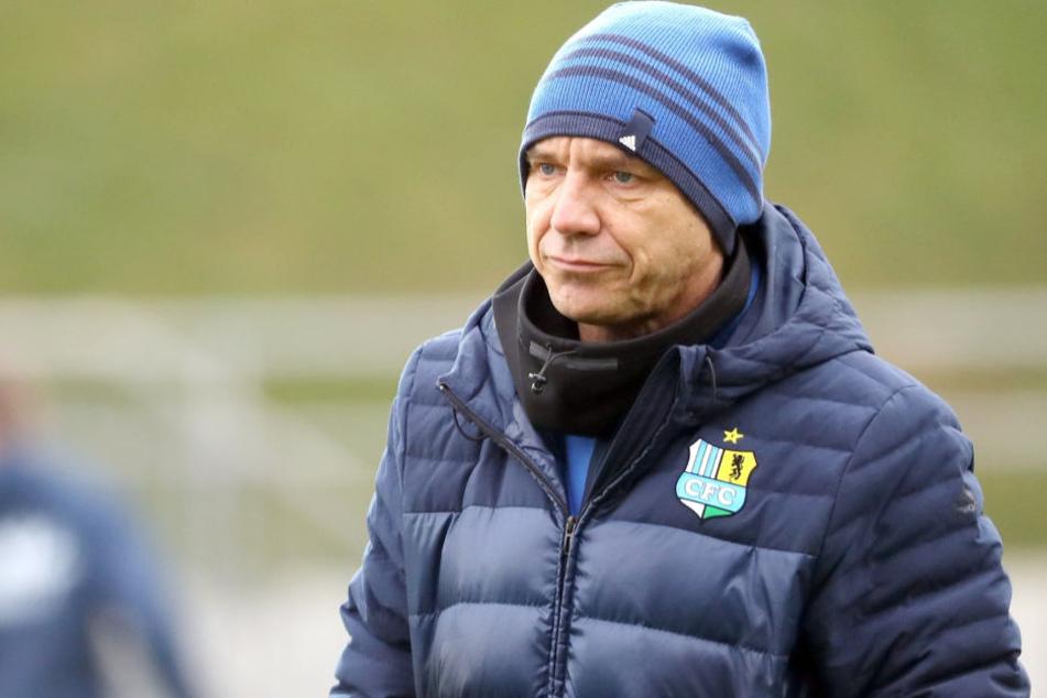 Nach sieben Pleiten in Folge Chemnitz feuert Trainer Steffen!